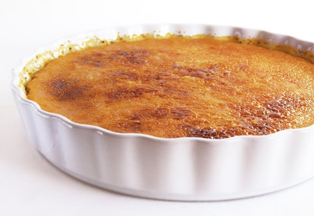 Creme Brulee with Pumpkin Recipe